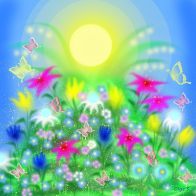 Цветы феи