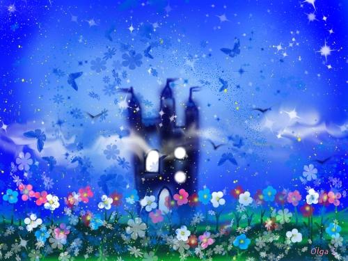 Замок ночи , автор Ольга Савченко