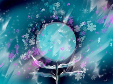 иллюстрация, весна, песня