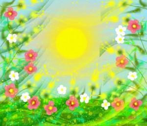 солнечный ветерок