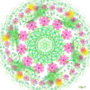 Цветочная мандала