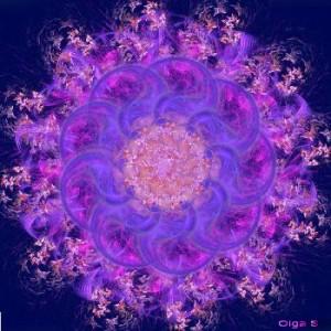 Мандала Ажурный Цветок