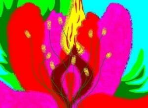 алый цвет