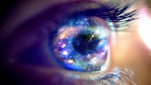 космос, глаз